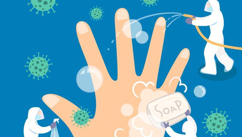 हात धुणे कोरोनाव्हायरसपासून संरक्षण करण्यात उपयुक्त ठरू शकते.  प्रतिमा: शटरस्टॉक