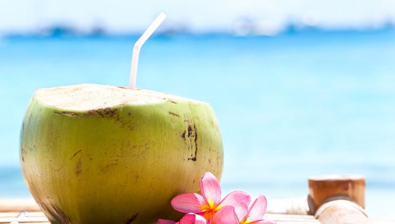 नारियल पानी आपकी स्किन के लिए फायदेमंद है। चित्र: शटरस्टाॅॅक
