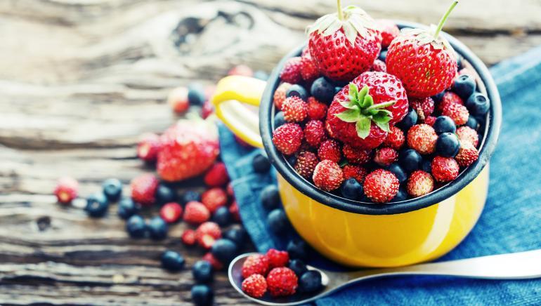बेरीज खाने से याददाश्त बेहतर होती है। चित्र : शटरस्टॉक