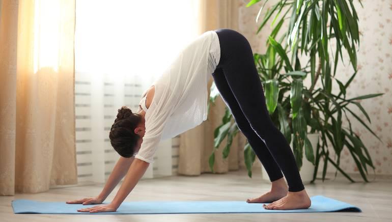हा आसन पवित्रा सुधारतो आणि स्नायूंना मजबूत करण्यास मदत करतो.  चित्र शटरस्टॉक.