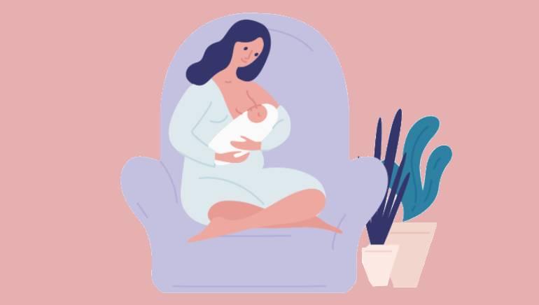 अगर आप हाल ही में मां बनी हैं तो भी आपको ब्रेस्ट में तकलीफ हो सकती है। चित्र: शटरस्टॉक