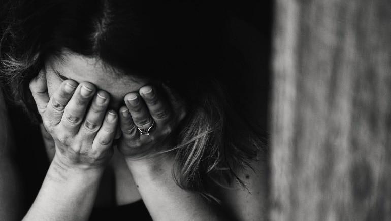 घरगुती हिंसाचार सहन करणार्या 86% स्त्रिया भारतात मदतीसाठी विचारत नाहीत.  चित्र: शटरस्टॉक