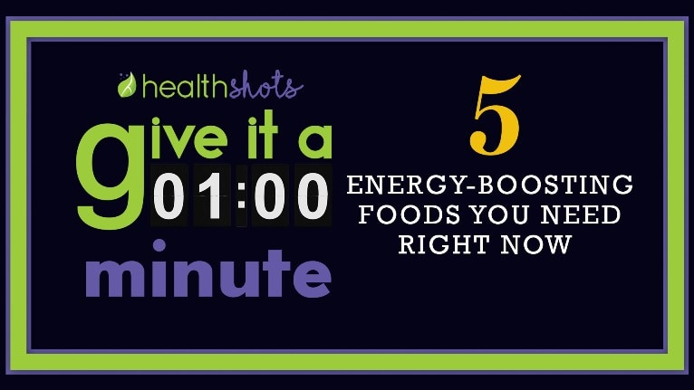 Give it A Minute, Ep 13 | 5 Energy-Boosting Foods You Need Right Now