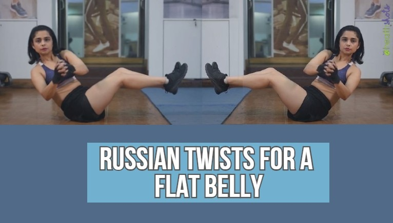 Let's twist! Here's how you can get a flat belly and toned core with Russian twists