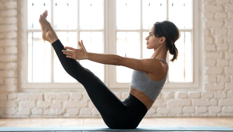 Do these 5 Pilates moves at home and burn more calories than running