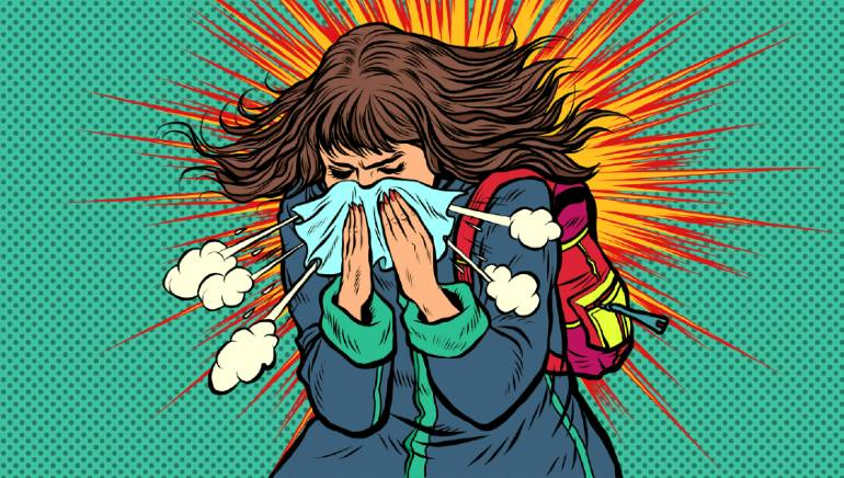 Runny nose and diarrhoea are also covid-19 symptoms according to the CDC