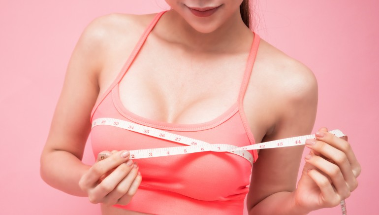 Can certain exercises increase your breast size naturally? Let's find out