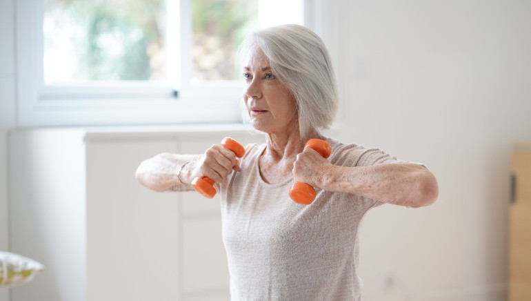Here's how exercise can help your mother manage her osteoporosis