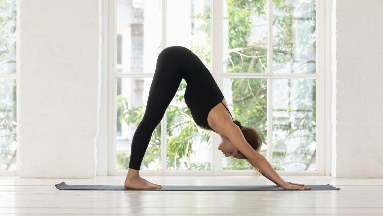 Adho mukha svanasana: Ace this yoga pose to flaunt slim, shapely and toned arms
