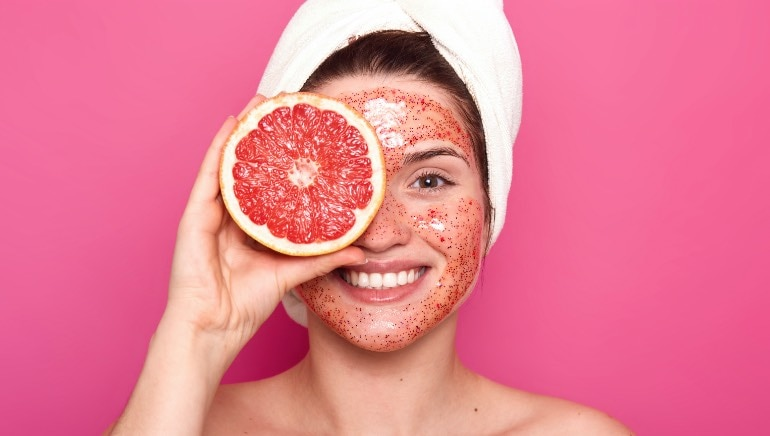 Don't let winter ruin your skin, instead try these grapefruit face packs