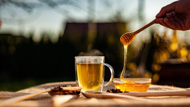 Adding honey to hot water can actually be toxic for you. Here's why